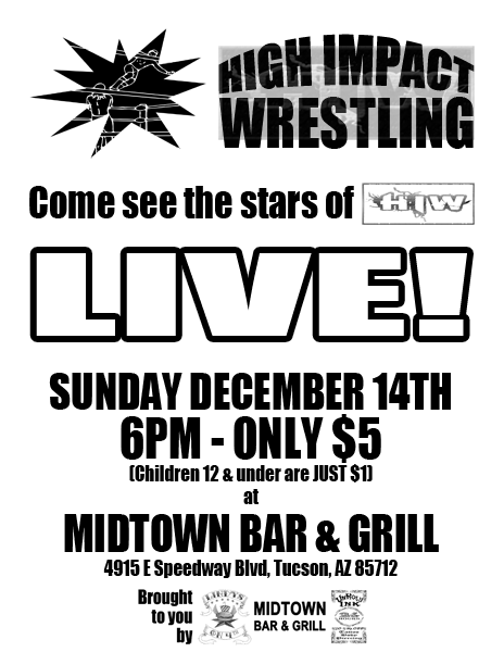 HIW TV Tapings - 12/14/2014 - Tucson, AZ